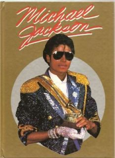 MICHAEL JACKSON 1984 HC Thriller UK Biography Pictures+