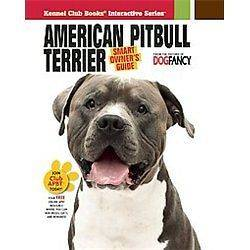 NEW American Pit Bull Terrier   Dog Fancy Magazine (COR