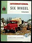 1955 International Harvester 6 Wheel Truck LF Series Brochure Canada