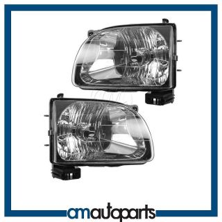 01 04 Toyota Tacoma Pickup Truck Headlights Headlamps LH & Right RH