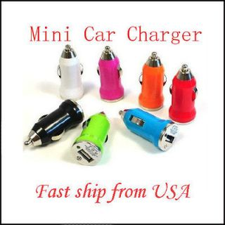 Mini USB Universal Car Charger Adapter for iPhone 4G 4S iPod /4
