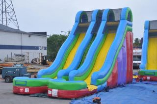 Inflatable Water Slide Wet Dry Slides Bounce House Tentandtable
