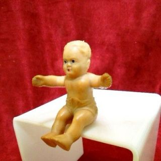vintage rubber baby doll in Dolls