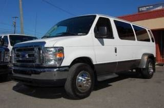 VERY NICE 2011 MODEL XLT PACKAGE, DUAL REAR WHEEL, 15 PASSENGER VAN
