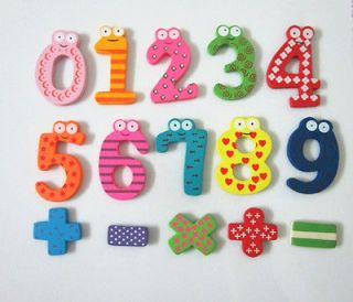 26 Letters Fridge Wooden Magnet Baby/Child Toy A Z ABC Educational