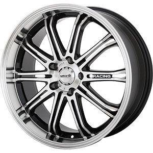 New 17X7 5x105/5x114.3 MAXXIM Black Wheels/Rims