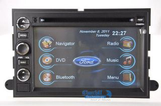 Ford F 250 In dash GPS Navigation DVD Radio  Deck Bluetooth Stereo