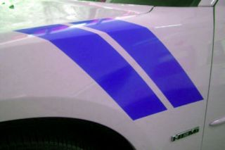 Dodge Charger Fender Stripes Decal 2006 & up hemi R/T