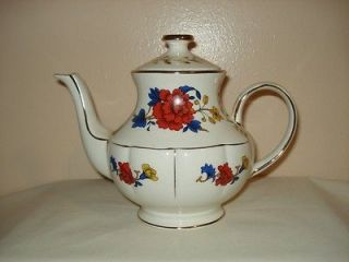 Vintage from England by Arthur Wood Flowered / Wildflower Teapot 5453