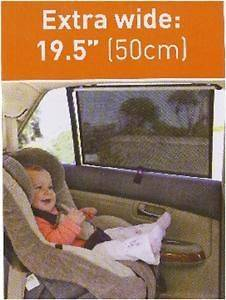 Dream Baby Extra Wide Car Window Sun Screen Shade~Truck/SU​V