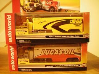 SEMI TRUCKS, WITH JEGS & LUCAS OIL TRAILERS RELEASE 5,AUTO WORLD