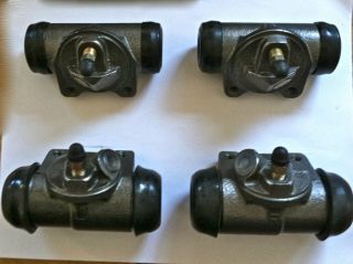 Brake wheel Cylinder set F&R for 1940 1942 Plymouth, Dodge, DeSoto and