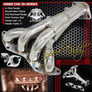 honda civic exhaust manifold in Exhaust