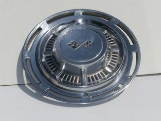 Vintage OEM 1959 1960 Chevy Impala Bel Air 14 Hub Cap Wheel Cover