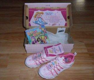NEW Skechers Bella Ballerina Prima Princess SHOES spinning sneakers