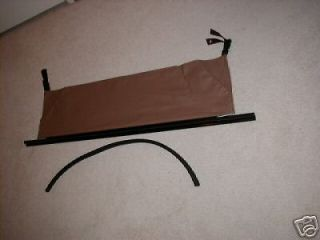NEW JEEP WRANGLER SOFT TOP REAR WINDOW TAILGATE BAR Spe