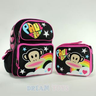 Paul Frank Julius Monkey Large 16 Backpack and Lunch Bag Set Box