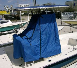 TAYLOR MADE BOAT CENTER CONSOLE COVER FOR T TOP BOATS