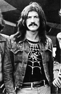 john bonham replica spider web shirt