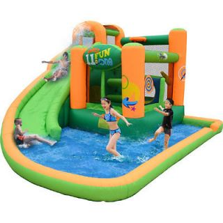 Endless Fun Inflatable Bounce House and Water Slide NEW