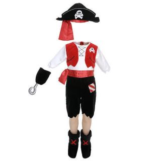 BRAND NEW with TAGS Boys Koala Kids Baby Toddler Pirate Costume