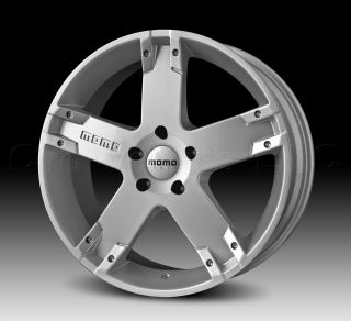 MOMO Car Wheel Rim Storm G.2 Silver 22 x 9.5 inch 5 on 120mm