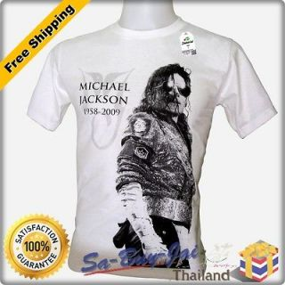 SHIRT MICHAEL JACKSON MJ V3 KING OF POP LEGEND ROCK RTO VTG NWT SZ M