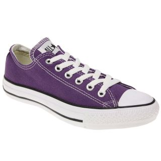 MENS WOMENS CONVERSE ALL STAR CHUCK TAYLOR CANVAS 1J625 PURPLE LO TOP