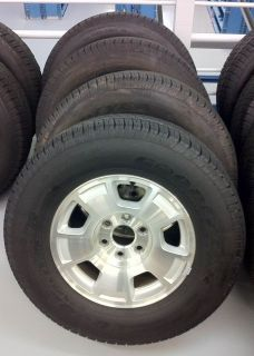 CHEVROLET 17 Factory Take Off Wheels and Tire Package OEM GM