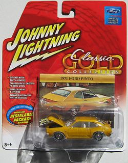 JOHNNY WHITE LIGHTNING R31 CLASSIC GOLD 1971 FORD PINTO
