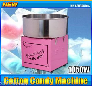 Cotton Candy Machine Electric Candy Floss Bulb Maker Stainless Steel