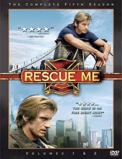 Rescue Me The Complete Fifth Season DVD, 2010, 6 Disc Set