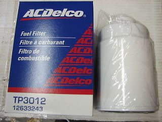 New GM AC Delco TP3012 OEM Fuel Filter Duramax Diesel