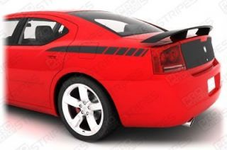 Dodge Charger Rear Quarter Stripes 2006 2007 2008 2009 2010 Decals