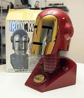 Iron Man Helmet and Stand   Factory X   Full Size 11 Scale