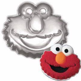 WILTON SESAME STREET ELMO FACE BIRTHDAY PARTY CHILDREN CAKE PAN MOLD