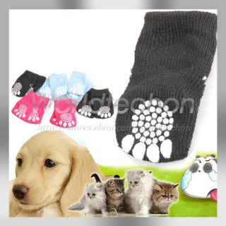 Lovely New Hot Sale Puppy Dogs Pet Knits Socks Anti Slip Skid Bottom