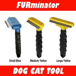 NEW FURMINATOR LARGE/MEDIUM/SMALL DE SHEDDING TOOL PET DOG CAT COMB