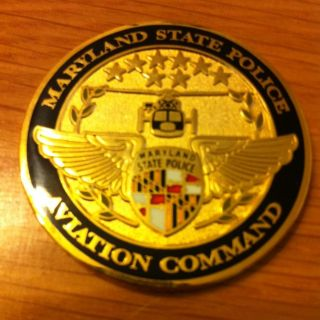 Maryland State Police Challenge Coin