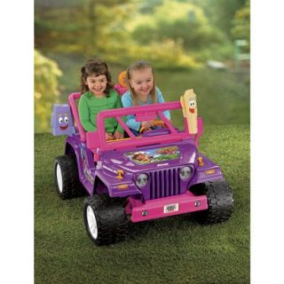 Fisher Price Power Wheels Dora 10th Anniversary Jeep Wrangler product