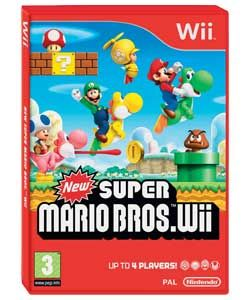 Buy New Super Mario Bros   Wii Game at Argos.co.uk   Your Online Shop
