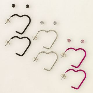 girl   heart hoops 6 pack  Childrens Clothing  Kids Clothes  The
