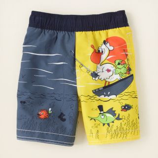 baby boy   pelican swim trunks  Childrens Clothing  Kids Clothes