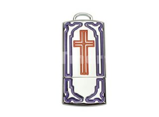 2GB Cross Jewelry Cartoon USB Flash Drive   Tmart