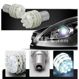 1156 36 LED Car Turn Tail Brake Light Bulbs White   Tmart