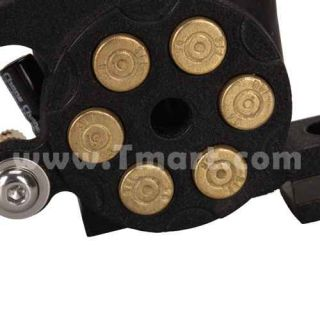 A13002 8 Wrap Coils Cast Iron Revolver Bullet Liner Shader Tattoo