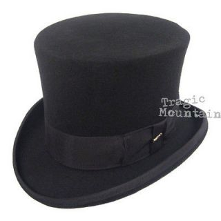 MaD HaTTeR SteamPUNK Victorian Top Hat Dickens Migician Wizard of Oz