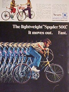 Sports Center Lightweight SPYDER 500 Bicycle~ Boys~Girls Bike AD