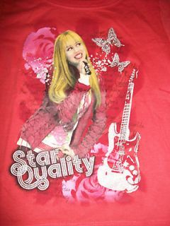 NEW HANNAH MONTANA GIRLS SHIRT SZ S 6 6X CORL