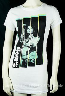 THE DOORS Jim Morrison Stripe Girl Junior Tunic T Shirt S M L XL NEW